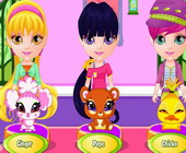 Baby Barbie Fairy Pets