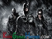 Batman The Dark Knight Rises - Hidden Letters Icon