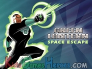 Green Lantern - Space Escape Icon