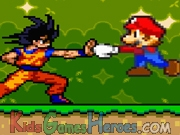 Mario Vs Goku - Animation Icon