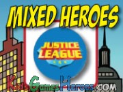 Mixed Heroes - Justice League Icon