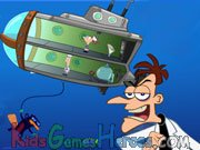 Phineas And Ferb - Down Perry-Scope Icon