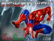 Spiderman City Raid Icon
