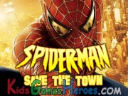 Spiderman - Save the Town Icon