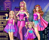 Super Barbie Sisters Transform