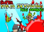 Super Ninja Skydiving & Zombies