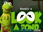 The Muppets - Kermit Look a Pond Icon