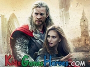 Thor The Dark World - Find The Letters Icon