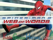 Web of Words - Spiderman Icon